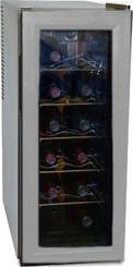 Haier 12-Bottle Capacity Platinum Wine Tower Storage - HVW12BSS