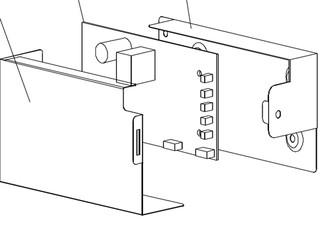 Control Board for BWR-461DZ