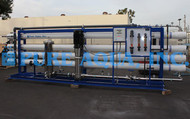نظام التناضح العكسي للمياه المالحة  173,000 GPD  - الجزائر