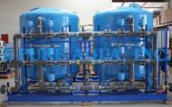 فلتر الكربون المنشط مع قواعد متحركة 150 GPD - الولايات المتحدة الأمريكية