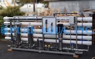 مشروع نظام التناضح العكسي للمياه المالحة -173,000 GPD - الجزائر