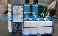 التناضح العكسي للمياه المالحة ذات الحجم التجاري 6,000 GPD - ليبيا