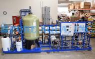 نظام التناضح العكسي الصناعي ومبادل الايونات الكهربائي 65,000 GPD - أنغولا