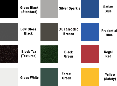 Customization Color Swatch Information