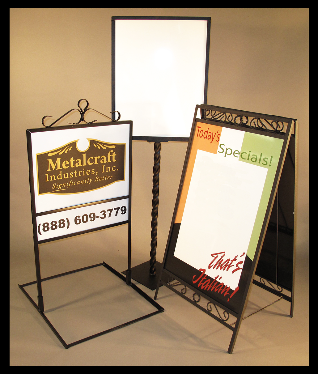 Yard Signs and Realty Frames - All Metal American Made