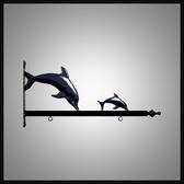 "24"" Dolphins Designer Bracket"