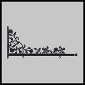 "36"" Roses & Thorns Designer Bracket"