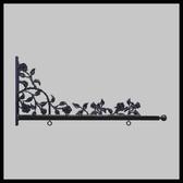 """36"""" Roses & Thorns Designer Bracket"""