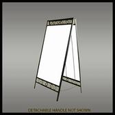Image of SKU# X-KIT-AF-3624-SI-ORN Ornamental A-Frame kit includes sign blank
