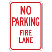 NO PARKING FIRE LANE IMAGE