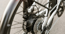 Juiced CrossCurrent S rear wheel assembly