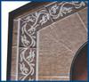 Blue Rhino Uniflame Propane Fire Pit Table - Decorative Tile Mantel 1