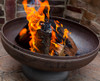 "Ohio Flame Patriot  24"" Diameter Fire Pit Natural Steel - OF24FPNSF"