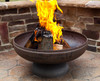 """Ohio Flame Patriot 30"""" Diameter Fire Pit Natural Steel - OF30FPNSF"""