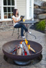 """Ohio Flame Patriot 42"""" Diameter Fire Pit Natural Steel - OF42FPNSF 4"""