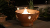 """Fire Pit Art Antlers 36"""" Natural Gas or Propane Fire Pit 1"""