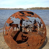Fireball Fire Pits - Wild - 37.5 inch Fire Globe 2