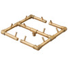 Ready to Finish Warming Trends DIY Fire Pit Kit 42 inch Octagonal - Natural Gas or LP Burner
