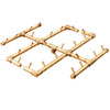 Ready to Finish Warming Trends DIY Fire Pit Kit 60 inch Octagonal - Natural Gas or LP Burner