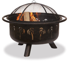 Blue Rhino UniFlame Oil Rubbed Bronze/Black Outdoor Fire Pit