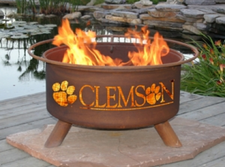 Patina Products - Clemson University College Fire Pit - F222