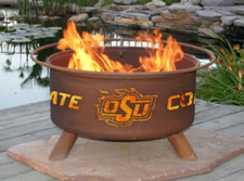 Patina Products - Oklahoma State University College Fire Pit - F227
