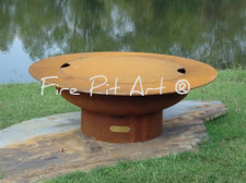 "Fire Pit Art - Cover Only For The 40"" Saturn - Rings In The Sky"