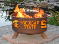 Patina Products - Michigan State University College Fire Pit - F403