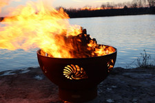 """Fire Pit Art 36"""" Beachcomber Fire Pit"""