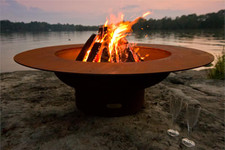 """Fire Pit Art Magnum 54"""" Fire Pit With Cover 1"""