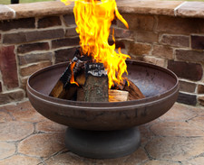 "Ohio Flame Patriot 30"" Diameter Fire Pit Natural Steel - OF30FPNSF"