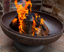 Ohio Flame Lunar Bowl 30 Quot Diameter Fire Pit Patina Finish