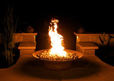 """Fire Pit Art Asia 36"""" Natural Gas or Propane Fire Pit 2"""