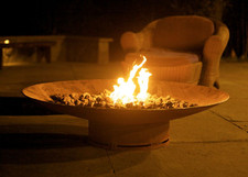 "Fire Pit Art Asia 48"" Natural Gas or Propane Fire Pit"