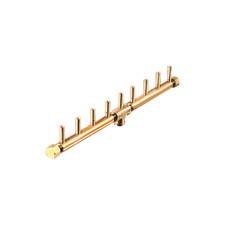 "Warming Trends Crossfire 90K BTU Linear Brass 18"" Burner - CFBL90"
