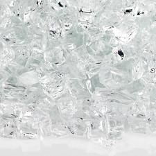 1/4 inch Starfire Classic Fire Glass