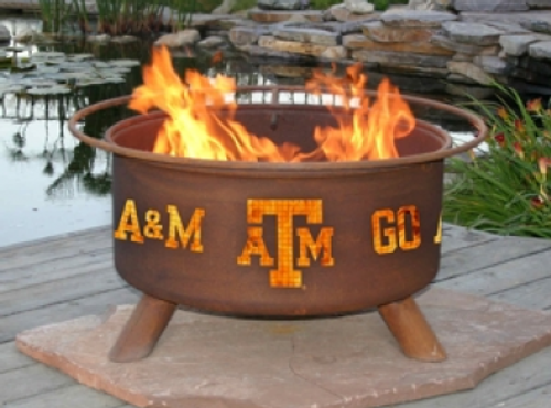 Patina Products - University of Texas A&M College Fire Pit - F232