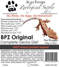 BPZ Original Gecko Diet
