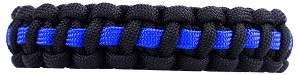 How to make a Thin Blue Line Paracord Bracelet