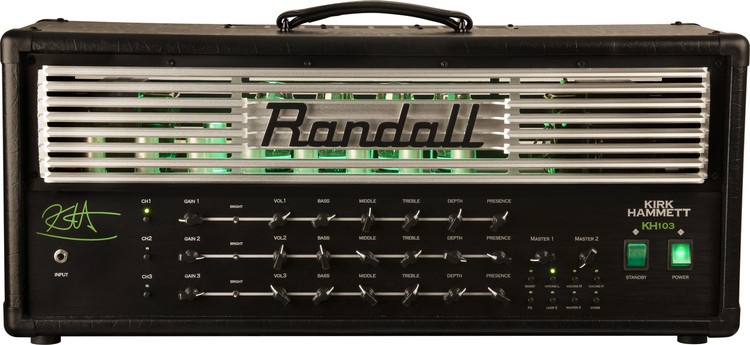 Randall KH103 Amplifier Head Front
