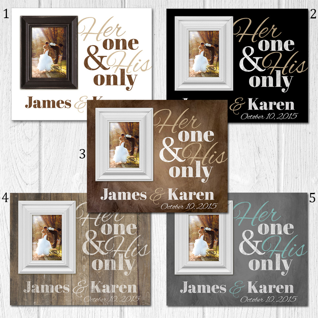 personalized established frame