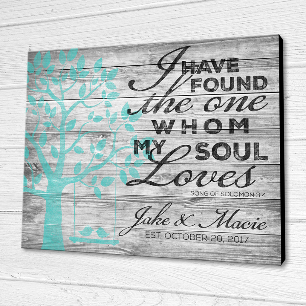 song of solomon personalized sign