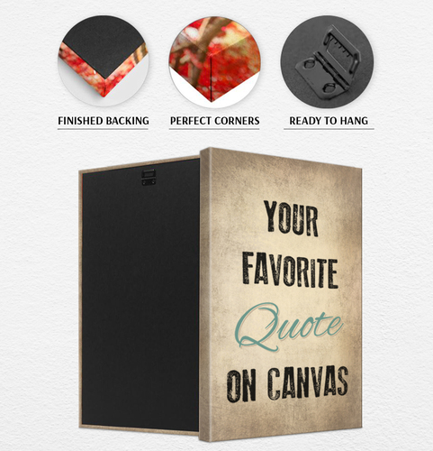 create your own quote canvas