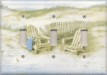 Adirondack Chairs on Dunes - Triple Switch