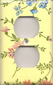 Country Flowers - Yellow - Outlet