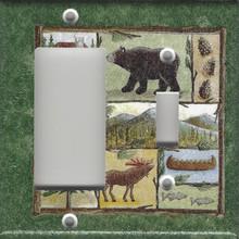 Bear & Moose - Double Combo GFI & Switch