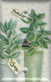 Phone Jack in Herbs design