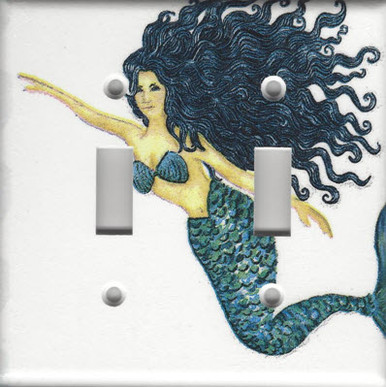 Mermaid - Black Haired - Double Switch
