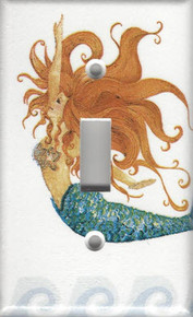 Mermaid - Red Haired - Single Switch