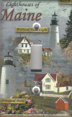 Lighthouses of Maine Single Switch